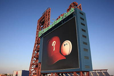 Baseball. Philadelphia Phillies Photograph - Citizens Bank Park - Philadelphia Phillies by Frank Romeo
