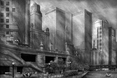 City - Chicago Il - Continuing A Legacy Print by Mike Savad