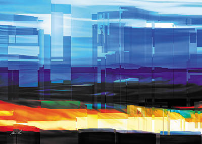 City Within Print by The Art of Marsha Charlebois