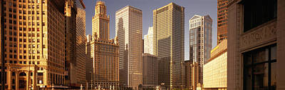 Cityscape Chicago Il Usa Print by Panoramic Images