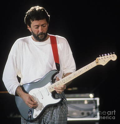 Eric Clapton Photograph - Clapton by David Plastik