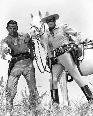 Clayton Photograph - Clayton Moore by Silver Screen