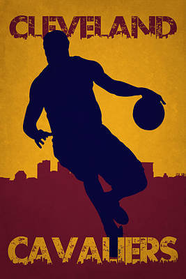 Cleveland Cavaliers Lebron James Print by Joe Hamilton