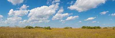 Clouds Over Everglades National Park Print by Panoramic Images