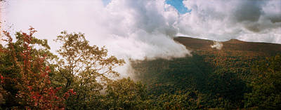 Catskill Photograph - Clouds Over Mountain, Catskill by Panoramic Images