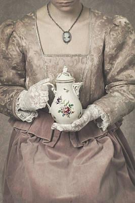 Locket Photograph - Coffee Time by Joana Kruse