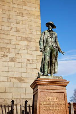 Prescott Photograph - Colonel William Prescott Statue by Brian Jannsen