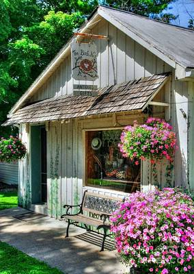 Indiana Scenes Photograph - Colors Of Metamora 4 by Mel Steinhauer