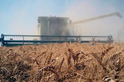 Combine Photograph - Combine Harvester by Photostock-israel