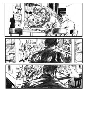 Mixed Media - Comic Page by Abhishek Vishwakarma