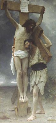 Jesus Christ Digital Art - Compassion by William Bouguereau
