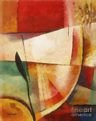Colorfields Painting - Composition by Lutz Baar