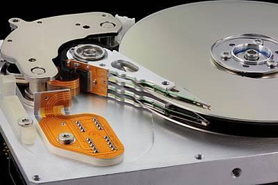 Computer Hard Disc Print by Antonio Romero