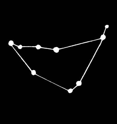 Constellation Painting - Constellation Capricorn by Granger