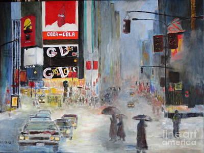 Dagmar Painting - Cool New York by Dagmar Helbig