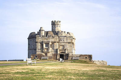 Cornwall - Pendennis Castle Print by Joana Kruse
