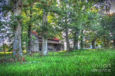 Shed Digital Art - Country Quiet by Dan Stone