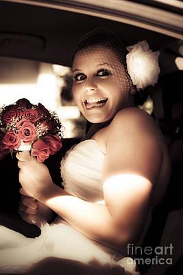 Crazy Bridezilla Print by Jorgo Photography - Wall Art Gallery