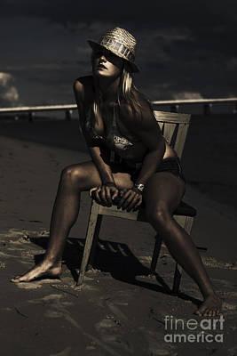 Creative Beach Fashion Print by Jorgo Photography - Wall Art Gallery