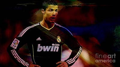 Cristiano Ronaldo Mixed Media - Cristiano Ronaldo by Marvin Blaine
