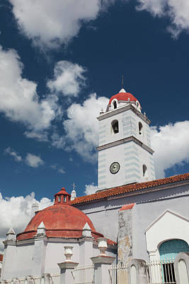 Iglesia Photograph - Cuba, Sancti Spiritus Province, Sancti by Walter Bibikow