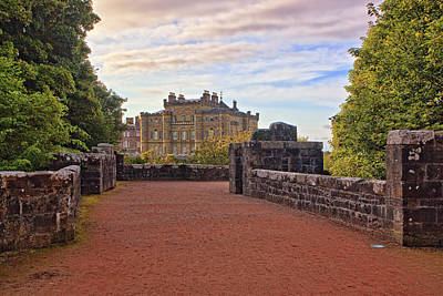 Castles Photograph - Culzean Castle by Marcia Colelli