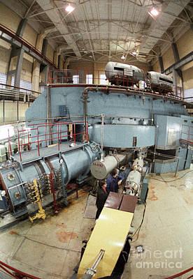 Cyclotron Particle Accelerator Print by RIA Novosti