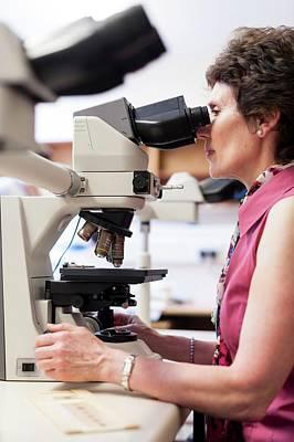 Cytology Laboratory Print by Aberration Films Ltd