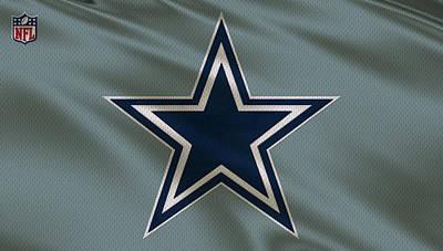 Dallas Cowboys Uniform Print by Joe Hamilton