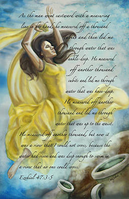 Praise Painting - Dancing In Glory by Tamer and Cindy Elsharouni