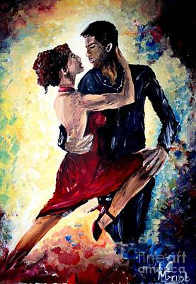 Dancing In The Moonlight Print by Michael Grubb
