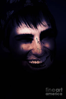 Distraught Photograph - Dark Creepy And Spooky Undead Pirate by Jorgo Photography - Wall Art Gallery