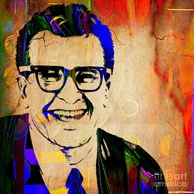 Jazz Mixed Media - Dave Brubeck Collection by Marvin Blaine