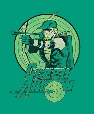 Halloween Digital Art - Dc - Green Arrow by Brand A