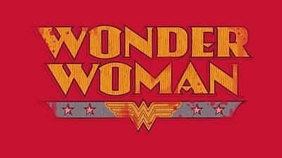 Halloween Digital Art - Dc - Wonder Woman Logo by Brand A