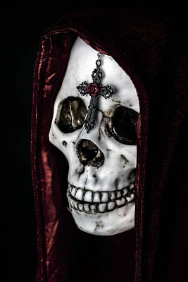 Skull Photograph - Dead Knight by Joana Kruse