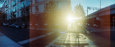 Lower East Side Photograph - Delancey Street At Sunrise, Lower East by Panoramic Images