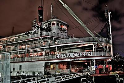 Delta Queen Print by Frozen in Time Fine Art Photography
