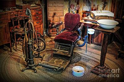 Dds Photograph - Dentist - The Dentist Office by Paul Ward