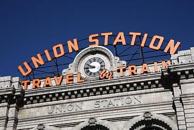 Denver - Union Station Print by Frank Romeo