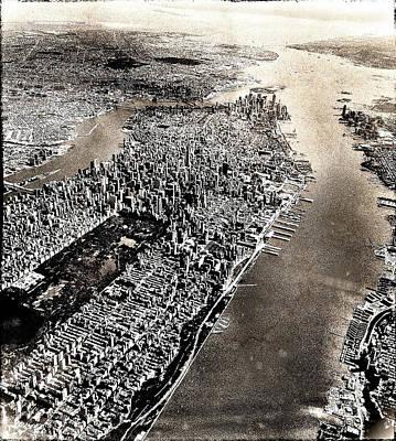 Departing Manhattan Print by Dan Stone