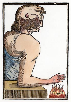 Descartes: Reflex, 1664 Print by Granger