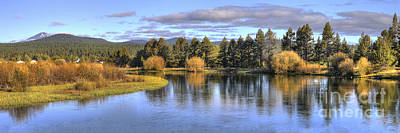 Deschutes River Print by Twenty Two North Photography