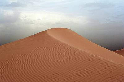 Africa-north Photograph - Desert Sand Dune by Jon Wilson