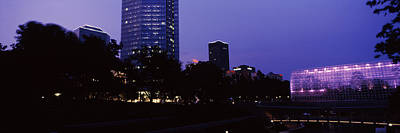 Oklahoma Photograph - Devon Tower And Crystal Bridge Tropical by Panoramic Images