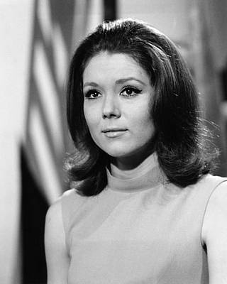 The Avengers Photograph - Diana Rigg In The Avengers  by Silver Screen