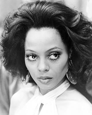 Diana Ross In Mahogany  Print by Silver Screen