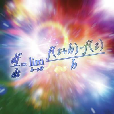 Calculus Photograph - Differential Calculus Equation by Alfred Pasieka