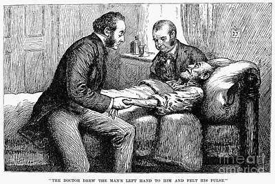 Doctor: House Call, 1888 Print by Granger