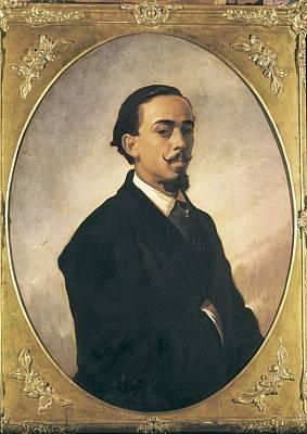 Caballero Photograph - Dominguez Becquer, Valeriano 1834-1870 by Everett